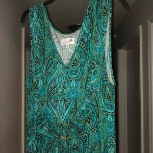 Completely Me By Liz Lange Paisley Dress